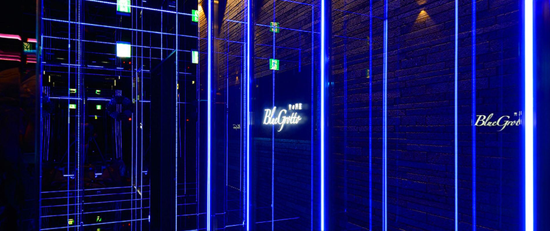 3F VIPループ(Blue Grotto)の入口の画像が写っています。